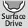 6-kant Steckschlüssel Profil Surfacedrive