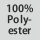 Gewebezusammensetzung 100% Polyester