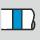 Farbring blau