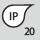 IP-Schutzart IP 20