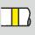 Farbring gelb