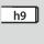 Skaft Cylinderskaft med h9