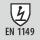 Kleidung gemäß DIN EN ISO 1149 antistatische Eigenschaften