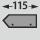 passend für Shadowboard-Tiefe 115