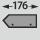 passend für Shadowboard-Tiefe 176