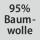 Gewebezusammensetzung 95% Baumwolle