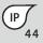 IP-Schutzart IP 44