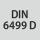 Norm DIN 6499 D
