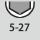 Schlüsselweiten-Bereich 6kt-Steckschlüssel 5-27