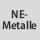 optimiert für Werkstoff Nichteisen- und Buntmetalle