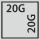 Schubladen Nutzfläche in G 20×20
