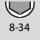 Schlüsselweiten-Bereich 6kt-Steckschlüssel 8-34