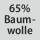 Gewebezusammensetzung 65% Baumwolle