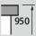 Werkbank Höhe 950