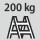 Steigtechnik Tragfähigkeit 200