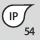 IP-Schutzart IP 54
