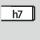 Schaft Zylinderschaft mit h7