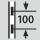 Höhenverstellung im Raster 100