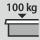 Schubladen/Auszugboden Tragfähigkeit 100