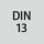 Thread standard DIN 13