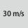 maximale Umfangsgeschwindigkeit 30