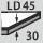 Rigid foam quality LD45, thickness 30