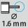 Depth gauge ⌀ 1.6