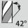 Helix angle 42
