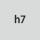 Tolerance nominal ⌀ h7