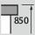 Workbench height 850