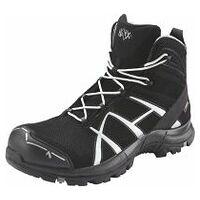 Chaussures hautes à lacets noires/argent Black Eagle Safety 40 Mid ESD, S3