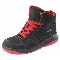 Chaussures hautes noires/rouges MAVERICK black-red Mid ESD, S3