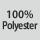 Composition du tissu 100% polyester