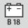 sopiva akku − toimittaja/akkutyyppi/jännite Bosch 18 V