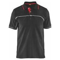 Polo Service Plus Noir / rouge