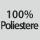 Composizione del tessuto 100% poliestere