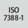 Laikiklio norma ISO 7388-1