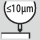 Radialinio mušimo tikslumas ≤10