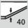 Grosor estante 40