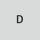 Símbolo de medio abrasivo D