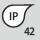 Clasă de protecţie IP IP 42
