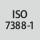 Hållare norm ISO 7388-1
