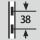 Regulación de la altura en el intervalo 38