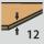 Grosor de plaquita 12