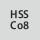 Material de corte HSS Co 8