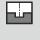 Anchura de ataque a<sub>e</sub> en la operación de fresado Ranura completa profundidad de corte 1×D