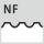Perfil de fresado NF