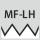 Tipo de rosca MF-LH