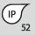 Clase de protección IP IP 52