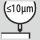 Precisión de concentricidad ≤ 10